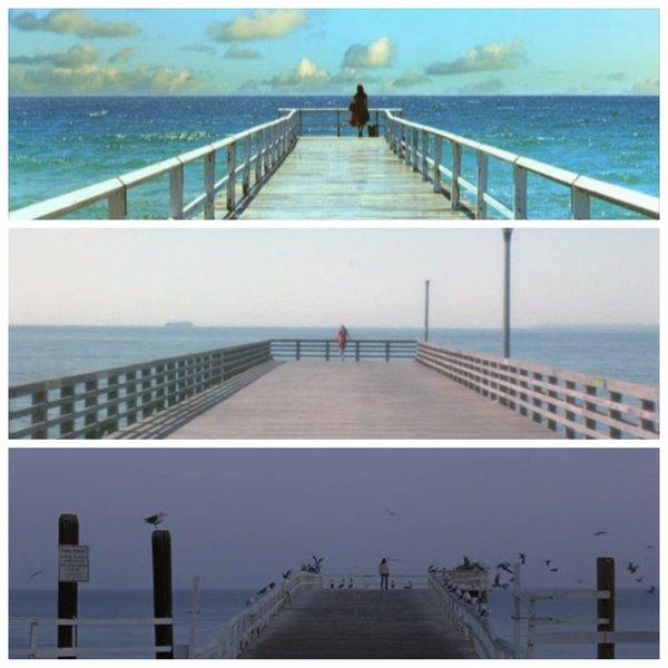 Дженнифер Коннели в фильмах «Тёмный город», «Реквием по мечте» и «Дом из песка и тумана»
