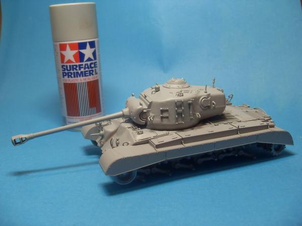 Сборная модель танка