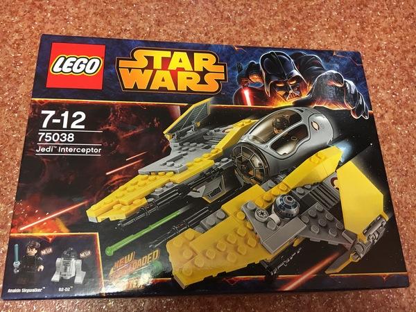 LEGO Перехватчик джедаев Lego, Лего звездные войны, Star wars, Энакин Скайуокер, R2D2, Длиннопост