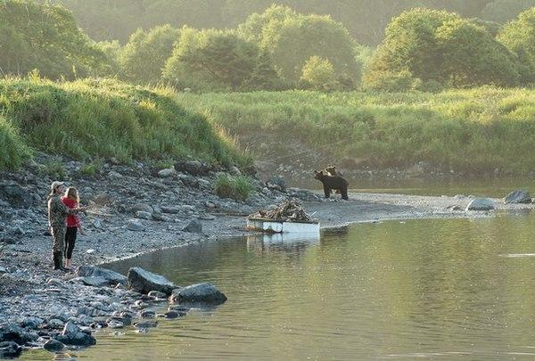 Просто рыбалка на Сахалине