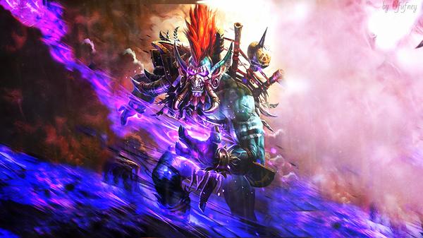 Духи не знают усталости! blizzard, Hearthstone, World of Warcraft, тролль, Орда, волджин