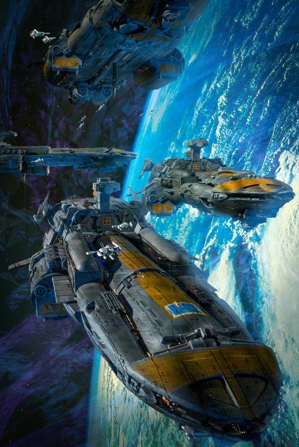 Космический крейсер тюрьма с переводом фото 705-859