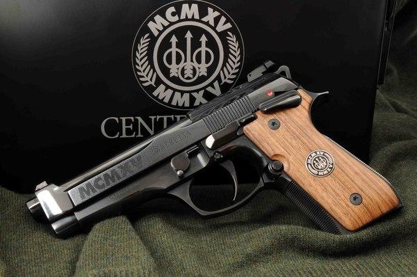 Beretta Centennial Оружие, Пистолеты, Beretta, Коллекционное издание, Видео, Длиннопост