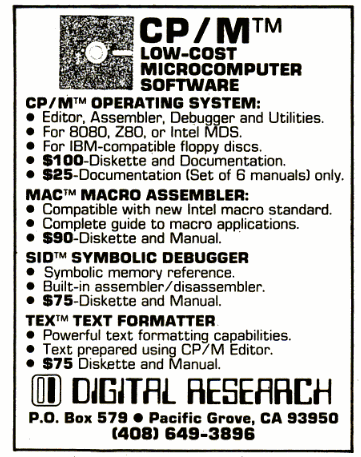 Как Digital Research почти доминировала на рынке ПК Cp-m, Ibm-Pc, ПК, Старое железо, Digital Research, DOS, Fail, Длиннопост