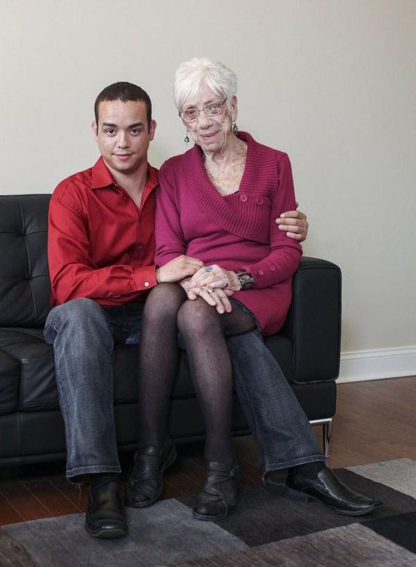 Старый и молодая девушка порно