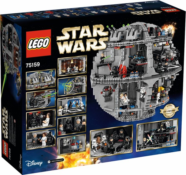 Пресс-релиз LEGO 75159 Death Star lego, star wars, lego star wars, джедай, ситхи, конструктор, длиннопост
