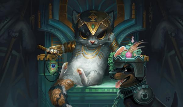 Creature Collection от SCG Magic: The Gathering, Пародия, Арт, DeviantArt, Длиннопост