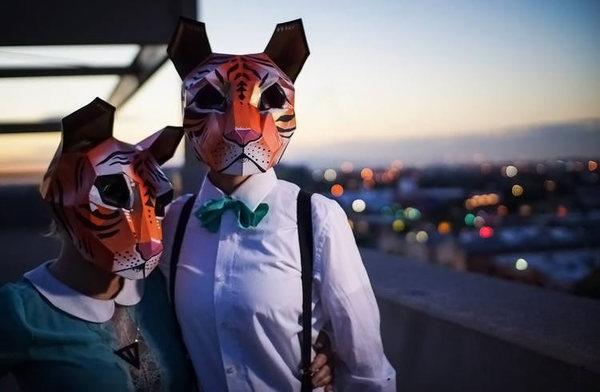 Бумажные маски, сделанные своими руками. Маска, Маскарад, Своими руками, Бумага, Длиннопост