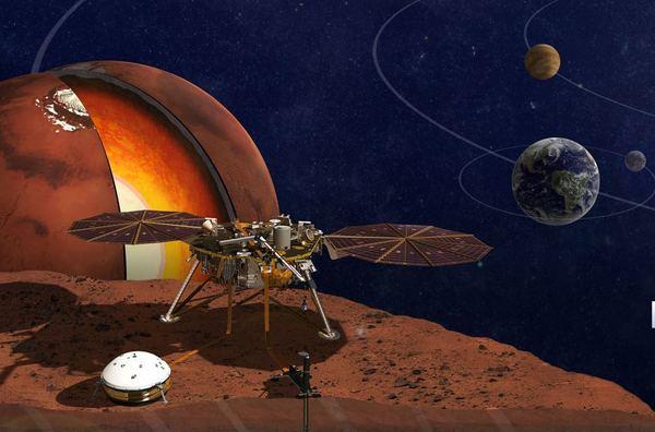 НАСА утвердило новую дату запуска аппарата Mars InSight Mars insight, Марс, NASA, Изучение Марса, Geektimes, Космос, Длиннопост