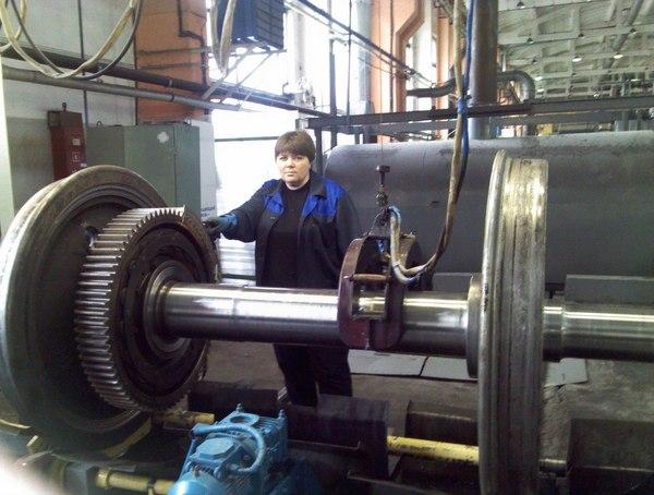 Фото моего рабочего места... Работа, Завод, Колёсная пара