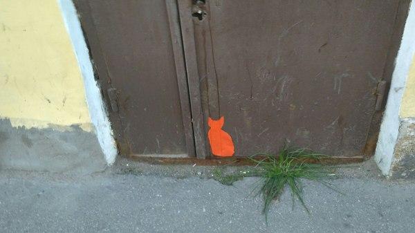 Просто котик Кот, Силуэт, Санкт-Петербург