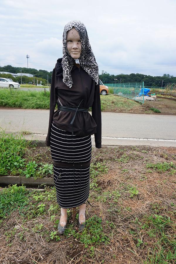 До приезда в Японию я думала, что это наши пугала страшные. Япония, Пугало, Страх, Фото, Длиннопост