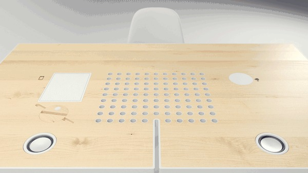 Как мы запилили самый технологичный стол Tabula Sense, Бизнес, Стартап, Стол, Дизайн, Гаджеты, Технологии, Гифка, Длиннопост