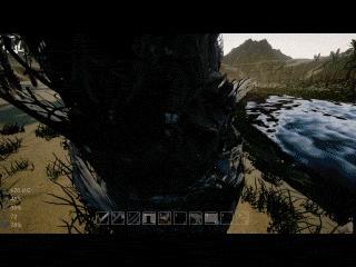 Как просто рубить деревья в ue4 Unreal Engine 4, Gamedev, Sandbox, Blueprint, Гифка, Длиннопост
