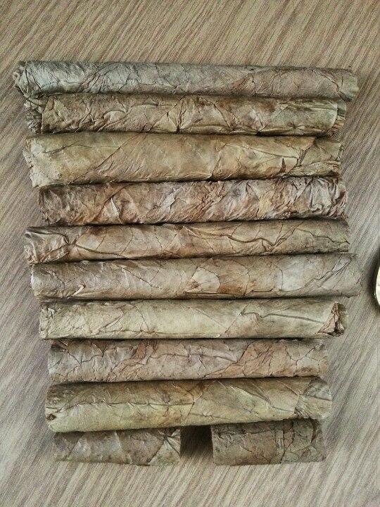 подготовка табака для сигар