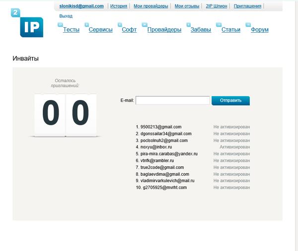 Приглашения на сайт 2ip.ru 2ip, Приглашение, Сайт, Инвайт