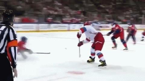 Сейчас я покажу вам немного хоккейной магии