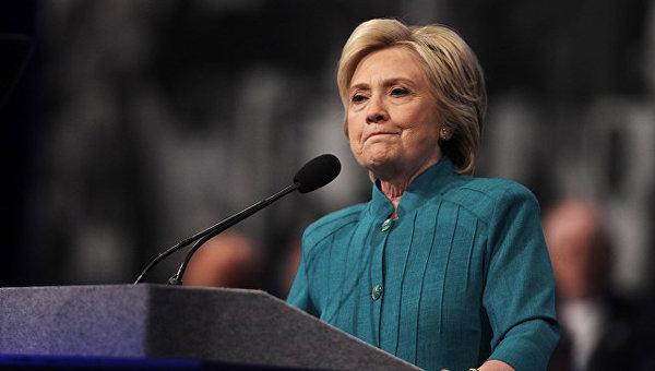 У Хиллари Клинтон диагностировали воспаление легких США, Хиллари Клинтон, Болезнь, Новости