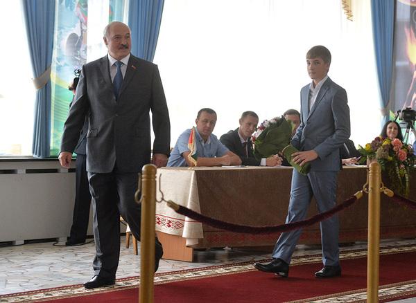 Хлопец  вырос. новости, Беларусь, Коля Лукашенко, политика