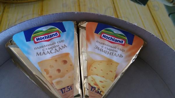Сыр с сыром Сыр Hochland, Тачка на прокачку