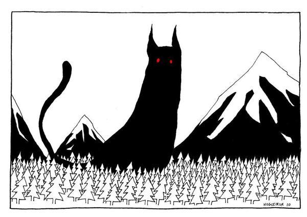 Йольский кот или кем в Исландии детей пугают Исландия, Йоль, Йольский кот, Кот, История, Мифы, Легенда, Длиннопост
