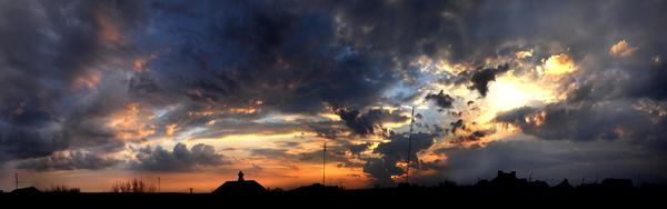 Любительские панорамы неба Панорама, Небо, Фотография