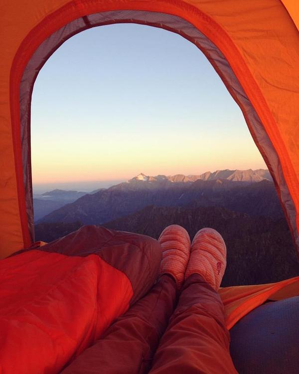 А как началось Ваше утро? Красная Поляна, Горы, Природа, Россия, Сахарный, Псеашхо, Моё