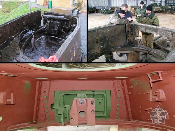 Воссоздание танка КВ-1 в ИКК «Линия Сталина» (Часть 1) Сталин, Великая Отечественная война, Восстановление, Танки, Кв-1, Длиннопост
