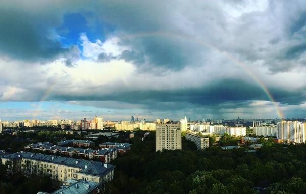 Радуга. Москва, запад
