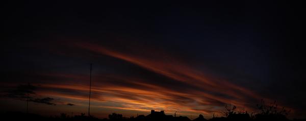 Любительские панорамы неба #2 Панорама, Небо, Фотография