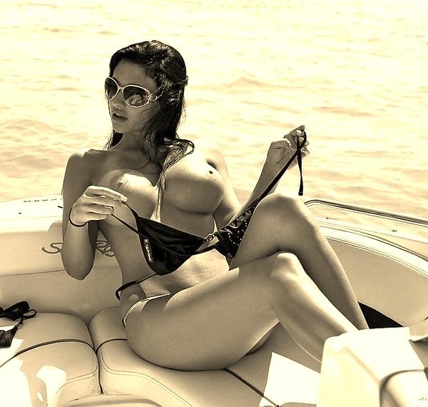 анетта океан на яхте явно хотелось