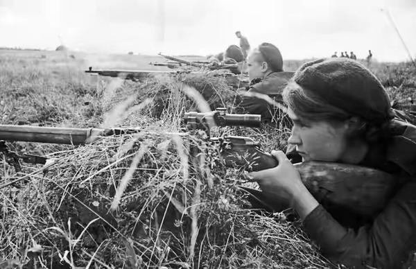 Советские женщины-снайперы, которых нацисты боялись как огня Война, История, Снайперы, Девушки и армия, Длиннопост
