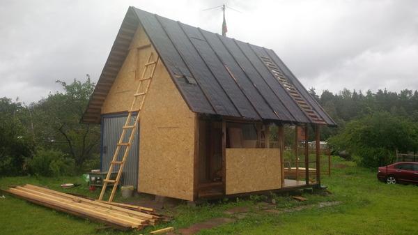 Садовый дом из вагончика дача, Строительство, вагончик, бытовка, длиннопост