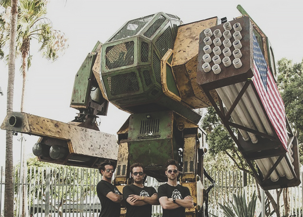 Строительство боевого человекоподобного робота превратят в веб-сериал Наука, Робот, Битва роботов, Сериалы, Видео, Длиннопост