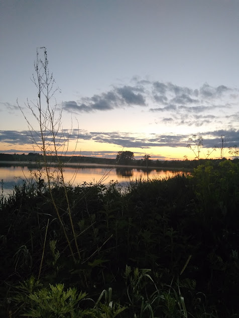 Закат Закат, Рыбалка, Небо