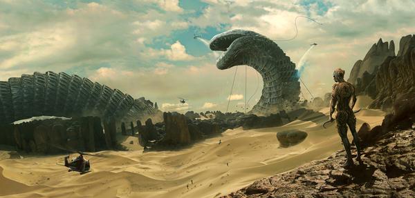 Песчаный червь. Начало. Змейка, Видео, Длиннопост, Песчаный червь