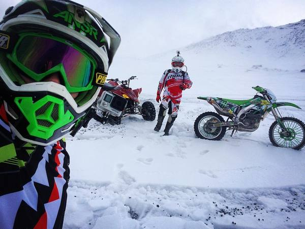 Зима уже дышит нам в затылок) Камчатка, Мото, эндуро, мотоциклы, квадроцикл