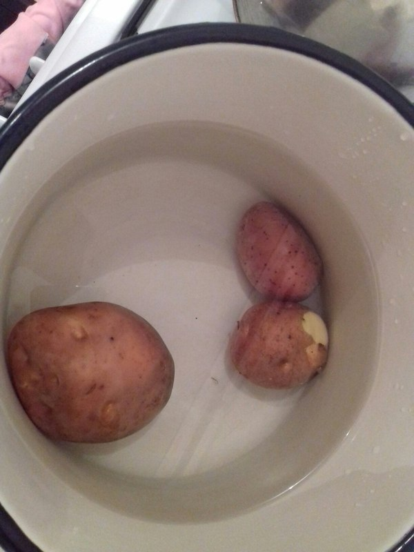 Как я картофельные слойки готовил. Моё, Еда, Неудачники, Невезение, Яйца, Длиннопост
