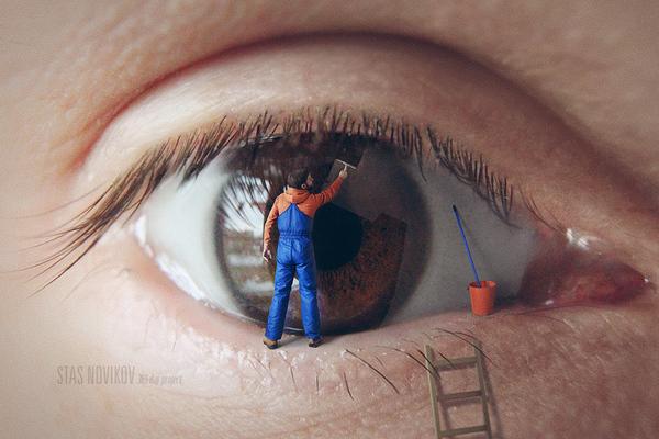 Креативные автопортреты от Стаса Новикова Фото, Автопортрет, Креатив, Фотошоп мастер, Длиннопост