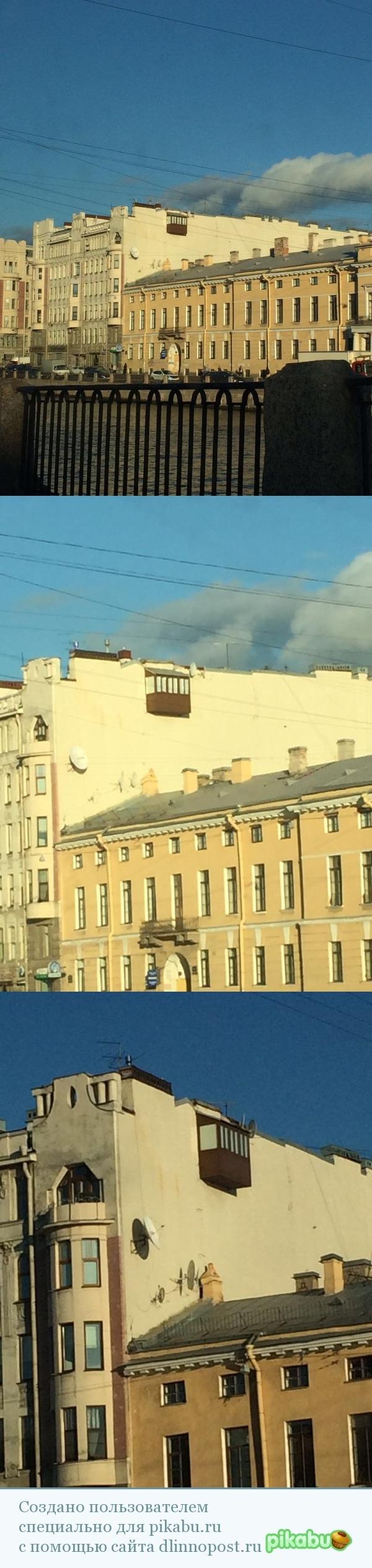 Балкон в Санкт-Петербурге Санкт-Петербург, Фонтанка, Балкон, Iphone 6, Текст, Длиннопост