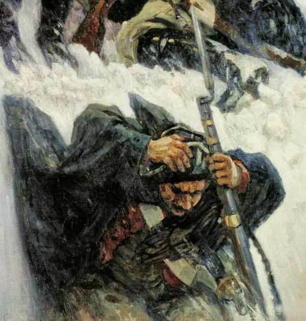 21 сентября 1799 г. 217 лет назад. Великий переход через Альпы. Суворов, Альпы, История России