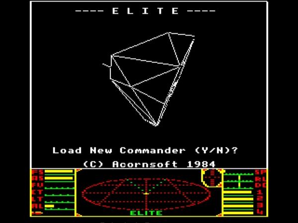 Elite - День рождения, 32 года! Космосимы, Игры, Ретро-Игры, Гифка, Длиннопост