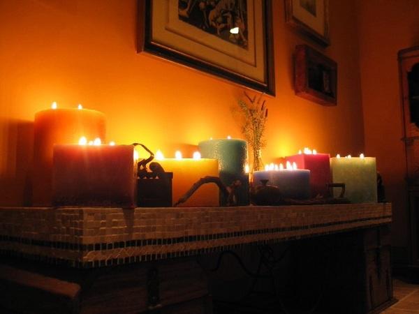 Настало время... Свеча, Дом, Отопление, Холод