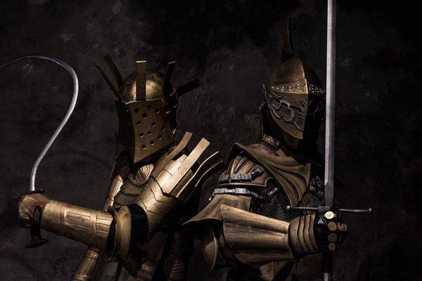 Косплей Dark souls, Игры, Косплей, Darkmoon Knightess, Lautrec of Сarim, Длиннопост