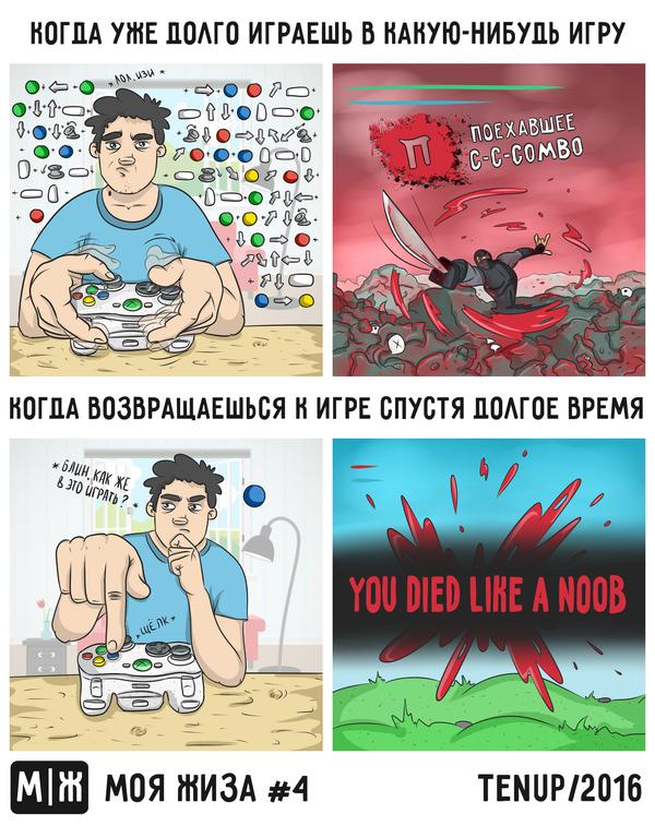 Проблема всех современных игр