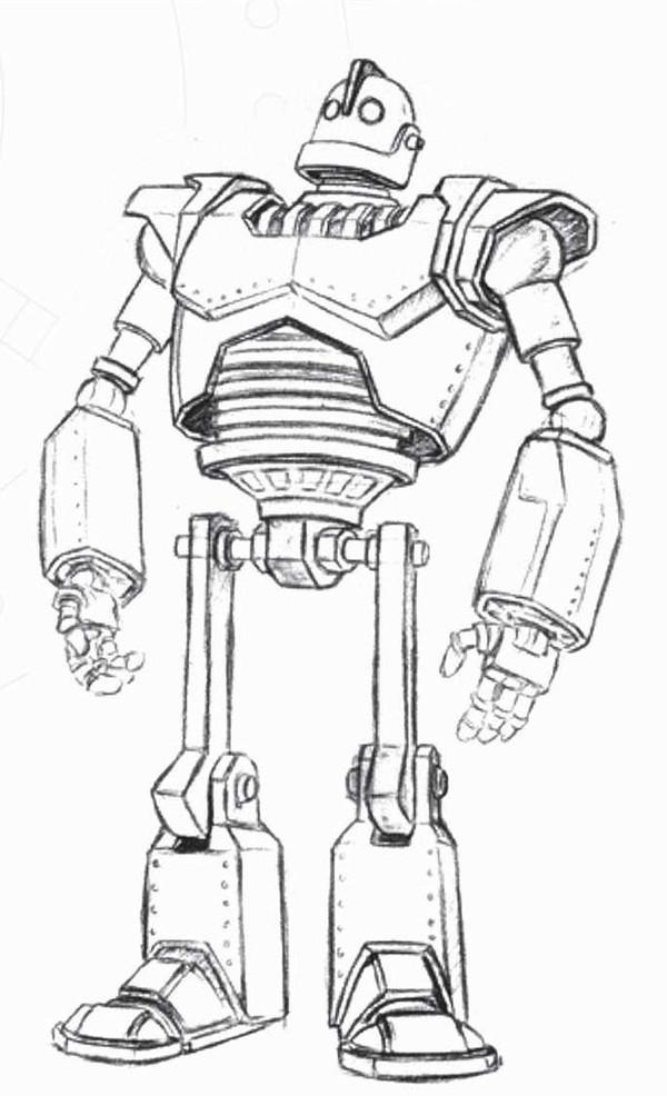 раскраска живая сталь роботы бублик