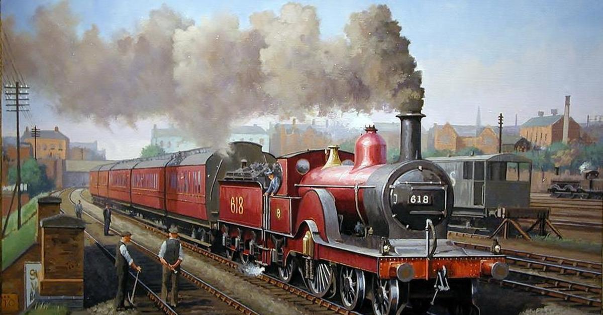 Сюжетные картинки о паровозах локомотивах