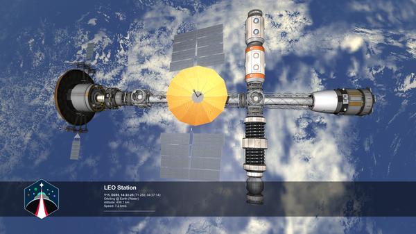 [KSP: RSS] Строительство станции на орбите Земли (часть 2); мод Station Science Kerbal Space Program, Игры, Космос, Длиннопост
