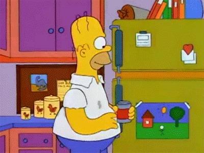 Симпсоны. Гомер всё-таки в коме? Симпсоны, Кома, Заговор, Теория заговора, Интересное, Мультфильмы, Гифка, Длиннопост