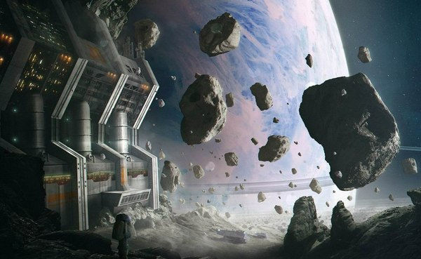 asteroid mining machinery - HD1920×1080